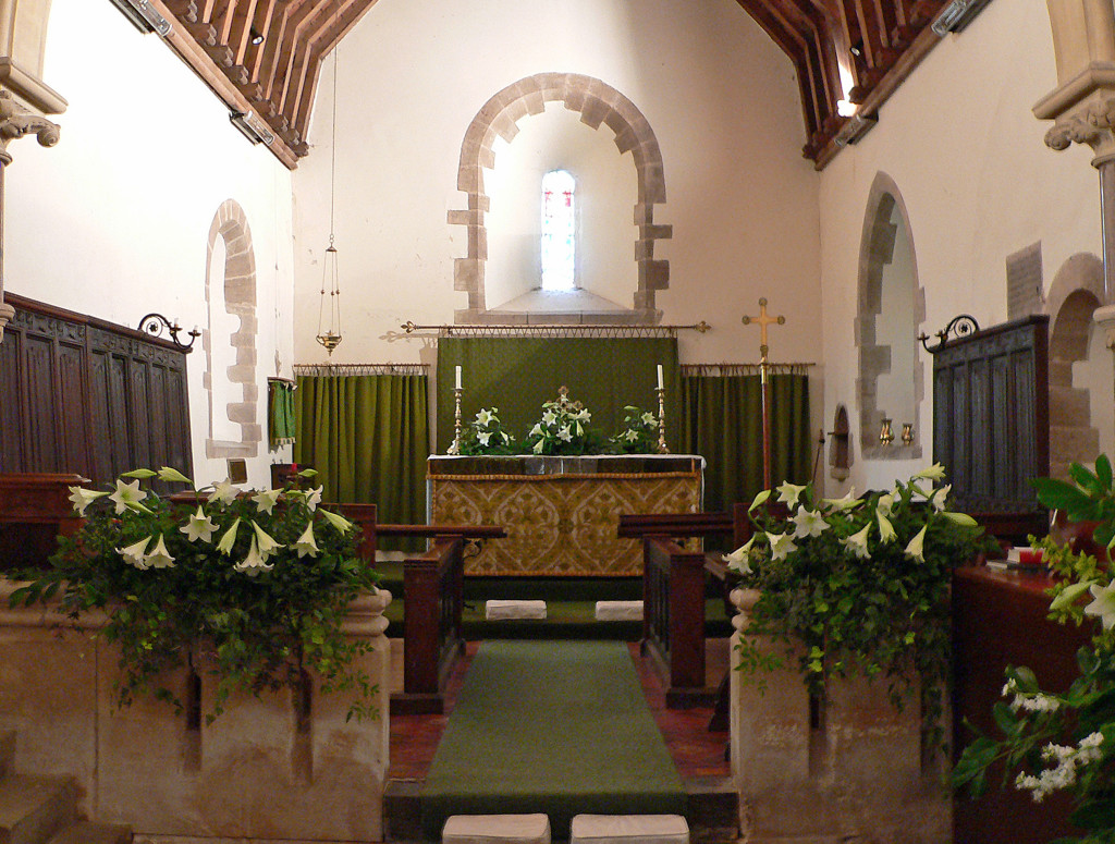 Kimbolton Church The Altar